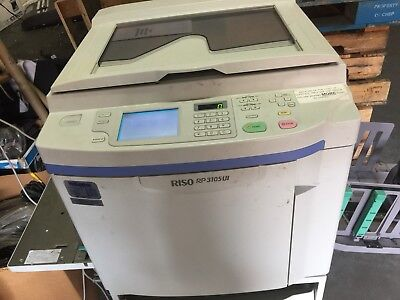 Risograph Riso Rp3105UI High Speed Duplicator