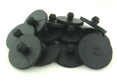 12 PCS. 2 inch Leaf Spring End Tip Wear Pad Anti Squeak Insert.