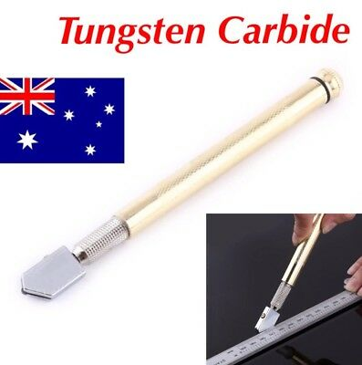 Glass Cutter Tungsten Carbide 3-12mm Cutting Wheel Blade Oil Feed Tool Glazing