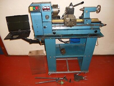 Clarke Lathe converted to 2 axis CNC direct from myford-stuff