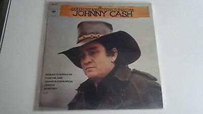 Johnny Cash, COUNTRY & Western Superstar, 2 LPs