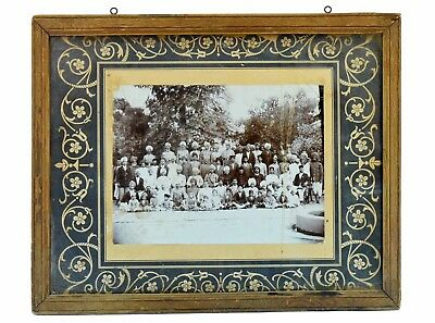 Indian Vintage Old Royal Family Black & White Photograph Collectible. i57-87