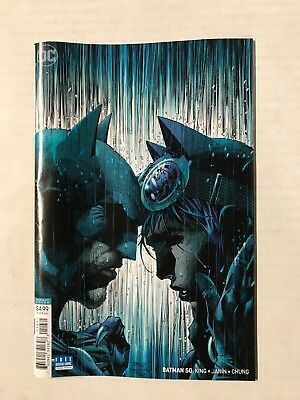 Batman #50 Jim Lee Variant First Print Dc Comics (2018) Wedding Issue Catwoman