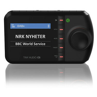 Tiny Audio C5 DAB+ FM Transmitter | Bluetooth | AUX in / Line out | Freispreche.