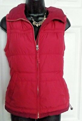 American Eagle Womens Red Vest Size Small Petite