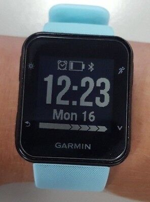 Garmin Forerunner 35 - Blue - Great Condition (HRM/GPS) W/Screen Protector