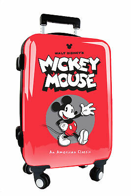 Walt Disney's - Trolley Rigido Da Cabina Topolino Mickey Mouse Omologato In Abs