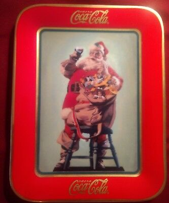 "Franklin Mint 1996 ""hospitality"" Limited Edition Coca-Cola Plate"
