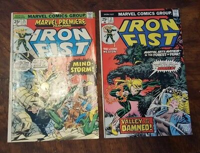 Iron Fist lot of 7