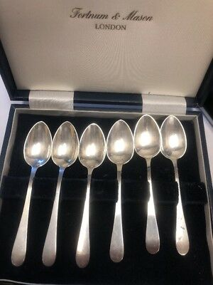 Set of 6 Tiffany & Co. Sterling Silver Tea or Coffee Spoons