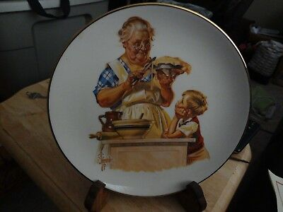 Mothers Day 1976 first editionplate byJoseph c. Leyendecker