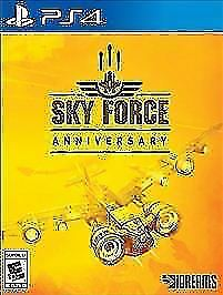 Sky Force Anniversary Limited Run #116 New Sealed PS4 Playstation 4 - RARE!