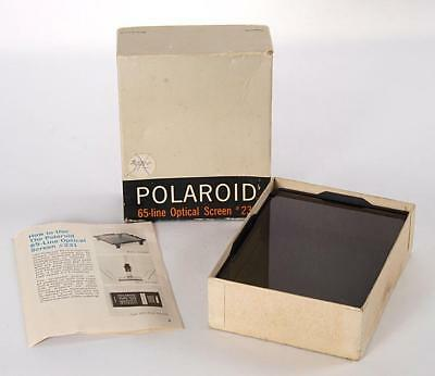 Polaroid #231 65-Line Optical Screen MP-3 or 4X5 - MINT IN BOX WITH INSTRUCTIONS