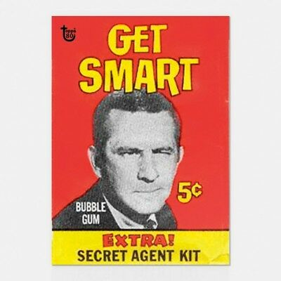 2018 Topps 80Th Anniversary Wrapper Art Card #60 - 1966 Get Smart