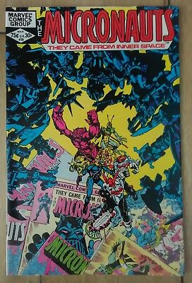 Micronauts Vol 1 #39 (1982) Shooter Golden Mantlo Ditko VF+ Combined Postage 25p