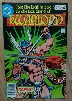 Warlord Vol 1 #35 (1980) Mike Grell Mariah VF+ Combined Postage Available 25p