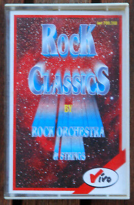 """MC Musikkassette """"ROCK CLASSICS BY ROCK ORCHESTRA & STRINGS"""""""