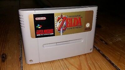 The Legend of Zelda: A Link to the Past Super Nintendo SNES Cartridge PAL VGC