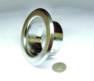 "Central Tyco Recessed Fire Sprinkler Escutcheon Chrome 1-1/16""d 1-7/8""id 2-7/8Od"