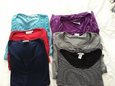 Nursing Breast Feeding Tops Bundle Inc Jo Jo Maman Bebe And Seraphine size 12