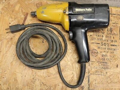 """Ingersoll Rand Millers Falls SP-6512 1/2"""" Electric Impact Wrench Impactool Drill"""