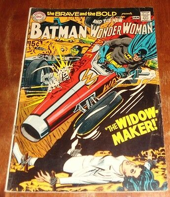 The Brave And The Bold 87 Vg (1969.dc) Batman  & The New Wonder Woman