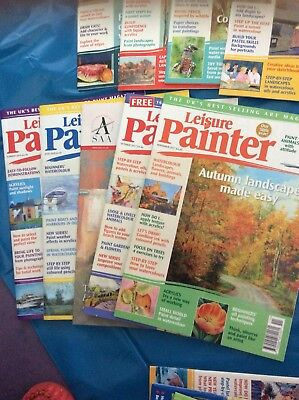 Job Lot Painting Magazines. Leisure Painter And Paint.