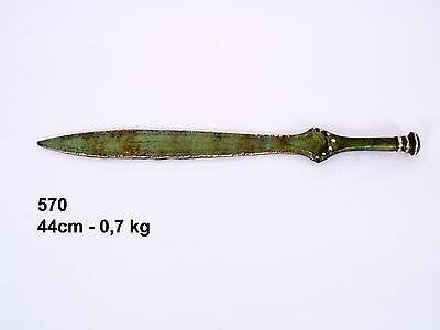 Ancient Greek Spartan Bronze Sword Real Size Museum Replica