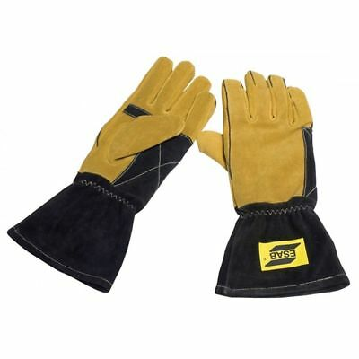 ESAB Curved Welding Gloves TIG MIG MAG MMA - Large Size 10/XL 0700005040