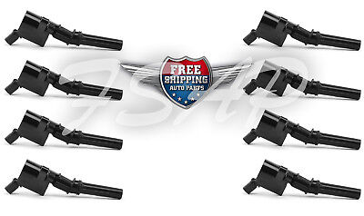 DG508 FD493 F523 Set 8 Ignition Coil For Blue Ford Lincoln Mercury 4.6L 5.4L *