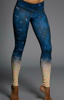 Onzie Time Travel Galaxy Long Legging Size Small/Medium VEUC Worn Once