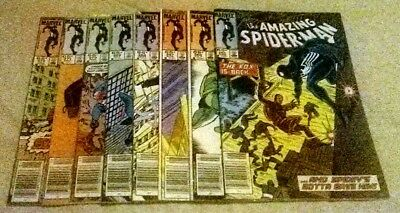 Spiderman #265 [Key Issue] Through #272 [ 8 issue lot ] All Newsstand - Nice Run
