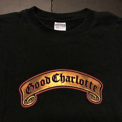 Vintage Good Charlotte Shirt Chronicles Of Life And Death 2004 M 90's Rock Conce