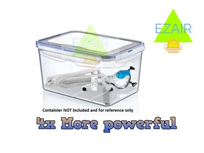 New  More Powerful No Chemicals CPAP Cleaner Kills 99% germs So Clean & Easy