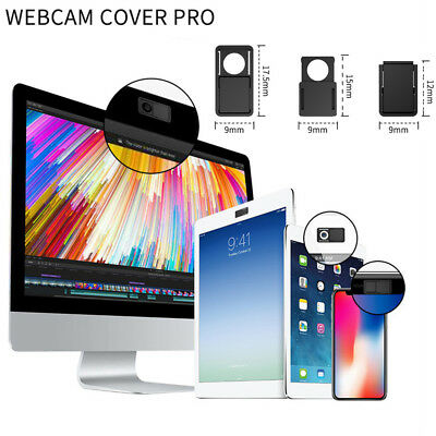3PCS Webcam Cover Web Camera Privacy Blocker Protect Computer Phone Ultra-Thin