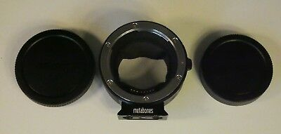 METABONES CANON EF-MOUNT TO SONY E-MOUNT ADAPTER - Rarely Used