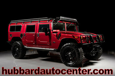 HUMMER H1 4-Passenger Wagon 2006 Hummer H1 Alpha, Custom Wheels and Tires, Roof Rack, LED Lights, WOW!