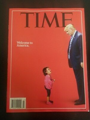 Time Welcome To America July 2 2018 Magazine