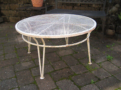 Vintage Salterini Coffee Table - Maurizio Tempestini - Wrought Iron LOCAL PICKUP