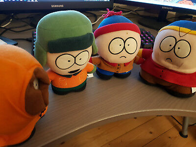 OFFICIAL South Park Plush Toy Collection: Stan, Cartman, Kyle, & Kenny