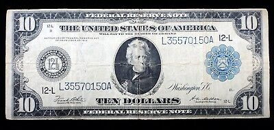 1914 $10 Federal Reserve Bank Note