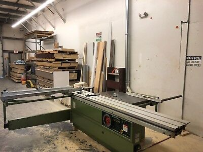 Griggio SC3000 10-foot sliding table saw with scoring blade