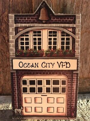 Brandywine Woodcrafts - Ocean City Md VFD Fire Dept  Display for Wee Forest Folk
