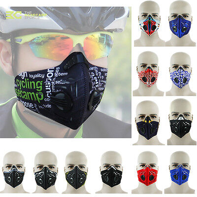 New Anti Dust Pollution Cycling Bicycle Bike Racing Ski Half Face Mask Filter