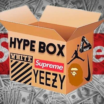 Hypebeast Supreme Mystery (Mainly Supreme, Possibly Yeezy Or Bape) Box
