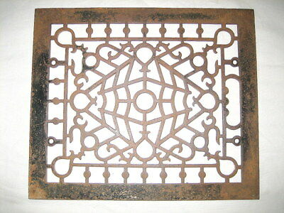 Antique Victorian Cast Iron Heat Register Cover