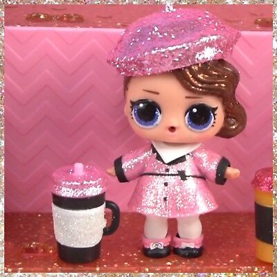 rare Lol Surprise Dolls Glitter HOLIDAY BLING HONEY BUN BABY Real L.O.L Toy