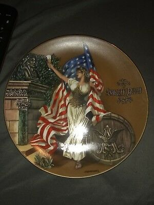 "budweiser archives series plate collection ""1893 columbian exposition"" first..."