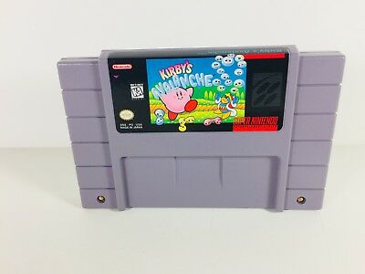 Rare Kirby's Avalanche Super Nintendo Entertainment System SNES 1995 Working