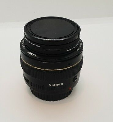 CANON EF 50mm f1.4 USM Ultrasonic Lens